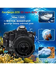 Unterwasser-Kameragehäuse für Canon EOS 5D Mark III und 5D Mark IV, wasserdicht bis zu Einer Tauchtiefe von 40 m