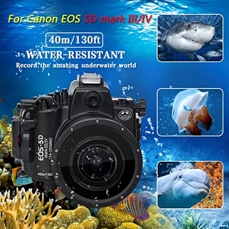 Sea frogs 130 M/40 m para Canon EOS 5d mark iii, 5d Mark IV cámara ...