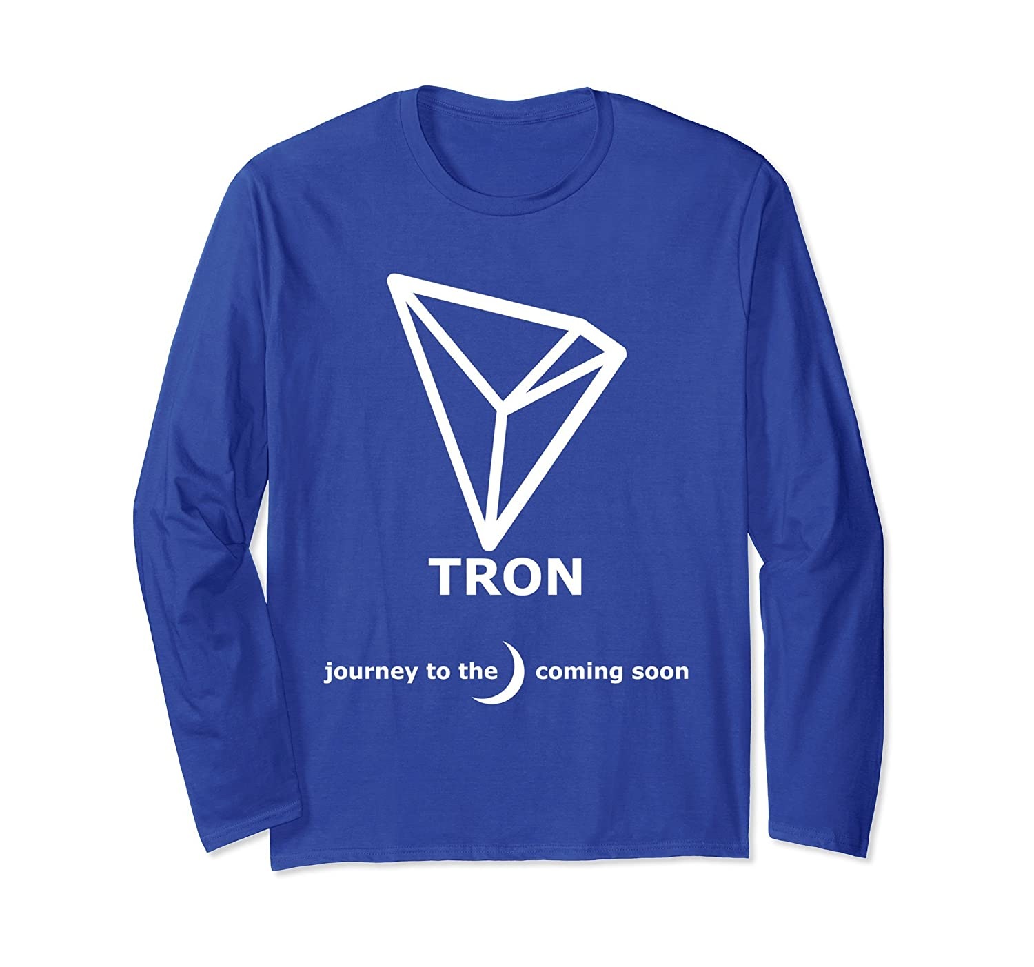 Tron Crypto T Shirt Tron To The Moon Trx Prm Paramatee
