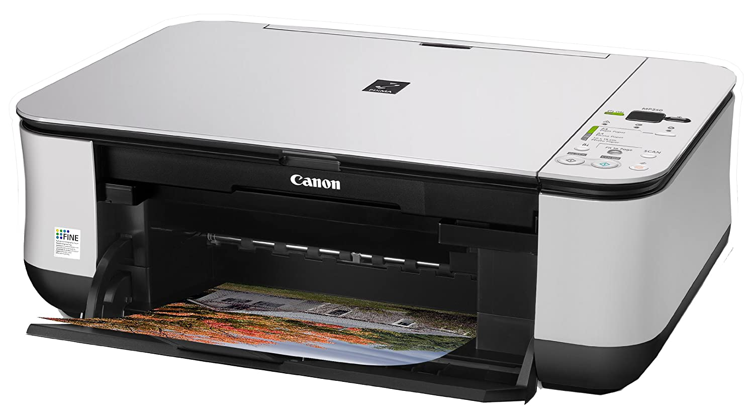 Canon PIXMA MP250 - Impresora Multifunción Color: Amazon.es ...