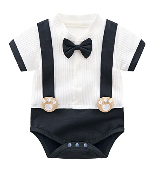 28a88c4b7203 NOMSOCR Infant Baby Girls Sleeveless One-Pieces Bowknot Romper Jumpsuit  Bodysuit Outfit Clothes (White