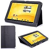 Supremery TrekStor Volks-Tablet PC 3G Enveloppe Boîte Couverture Sac Étui en cuir avec fonction de rester debout |Trekstor Volks-Tablet 3G (VT10416-2) Enveloppe Boîte