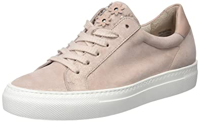 Paul Green Damen Sz Met/Diamond Calf Rose/Blush Sneaker