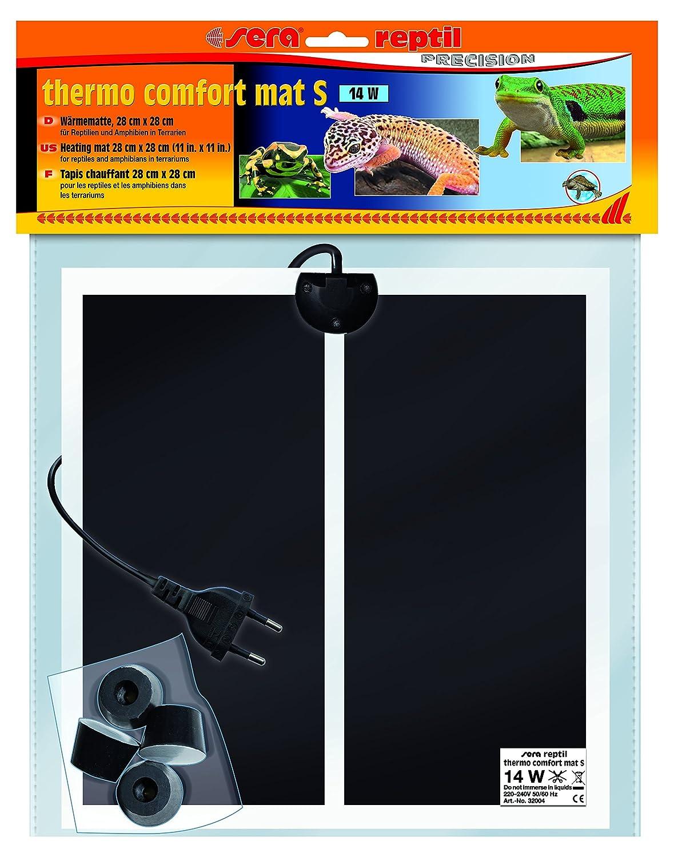 SERA 32004Reptile Thermo Comfort Mat S/14W Une Chaleur Tapis Chauffant pour Reptiles, amphibies et invertébrés dans Les terrariums 80702
