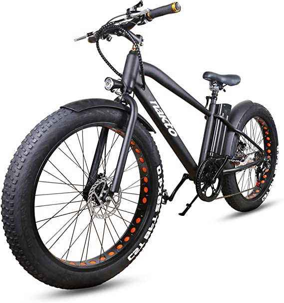 NAKTO Electric Bike for Adults 26