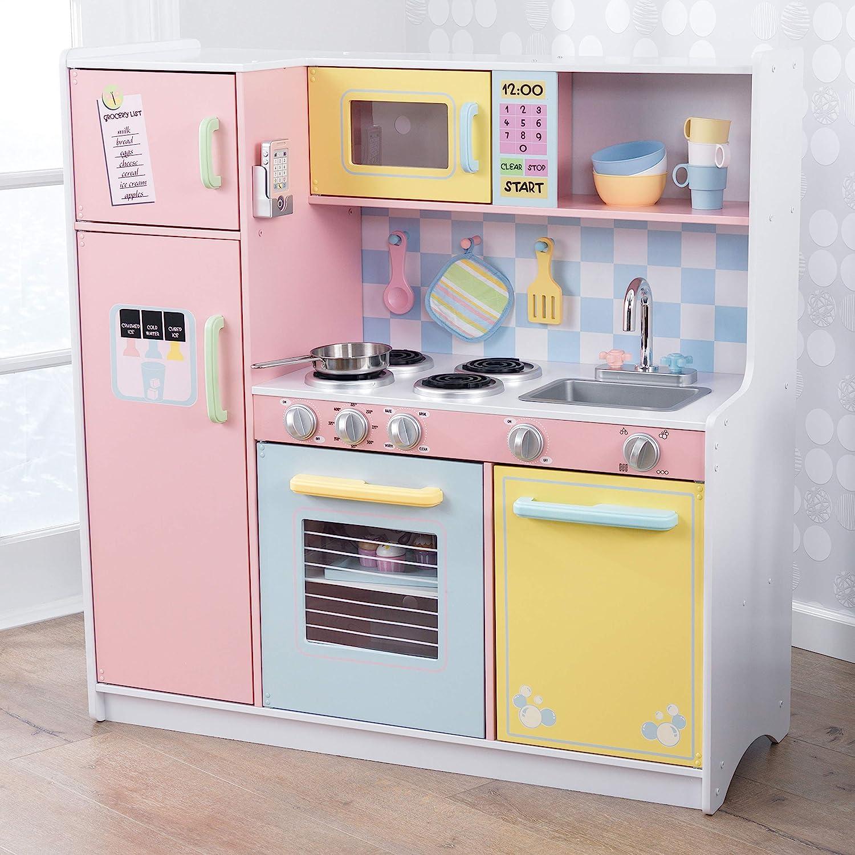 KidKraft- Cocina de juguete de madera, para niños, con accesorios ...