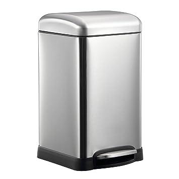 Beau HARIMA Mülleimer 20L   Abfallbehälter Küche, Schlafzimmer, Badezimmer,  Garten ökologischer Pedalkorb Mit Kuppeldeckel