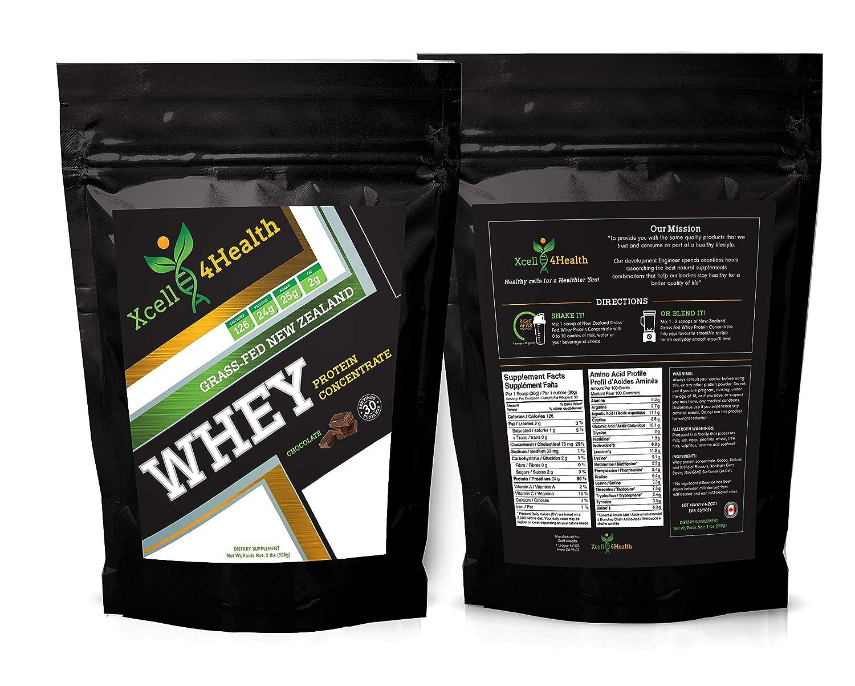 Grass-Fed New Zealand Whey Protein Chocolate