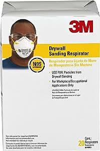 3M Drywall Sanding Respirator, 8210DB1-A, Drywall Sanding, 20 Pack