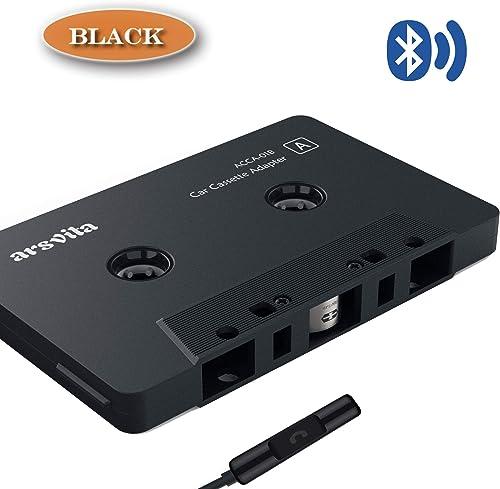 Arsvita Car Audio Bluetooth Cassette Receiver