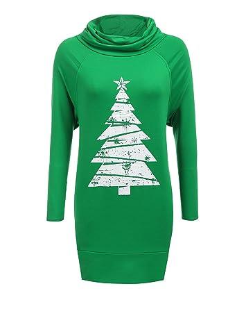 od lover women s tunic turtleneck raglan plain pullover hoodies sweatshirt dress small