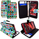 MOBIEEXTRALTD{TM} SONY XPERIA SP M35H PREMIUM QUALITY PU LEATHER MAGNETIC FLIP CASE SKIN COVER POUCH + STYLUS