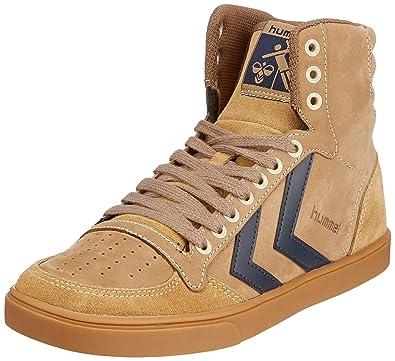 7134599079d hummel Unisex-Erwachsene Stadil Rubber Hohe Sneaker, Beige (Taupe Grey  1513),