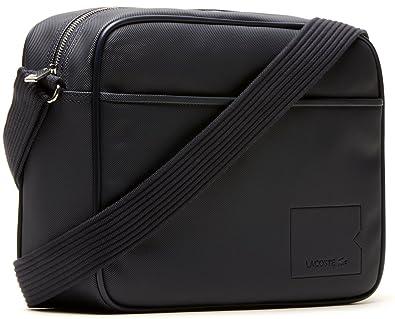 3d0aea73c9 Lacoste - Besace Lacoste Airline Bag ref_cem36443-bleu marine ...