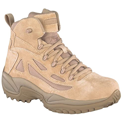 Reebok Military Rapid Response 6in Side Zip Military Boots