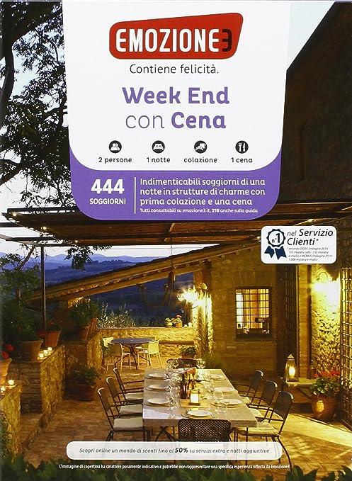 Emozione3 - WEEK END CON CENA - Cofanetto Regalo - Soggiorni di una ...