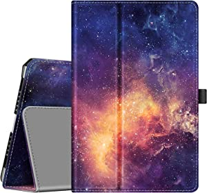 Fintie Case for iPad 9.7 2018/2017, iPad Air 2, iPad Air - [Corner Protection] Premium Vegan Leather Folio Stand Cover, Auto Wake/Sleep for iPad 6th / 5th Gen, iPad Air 1/2, Galaxy