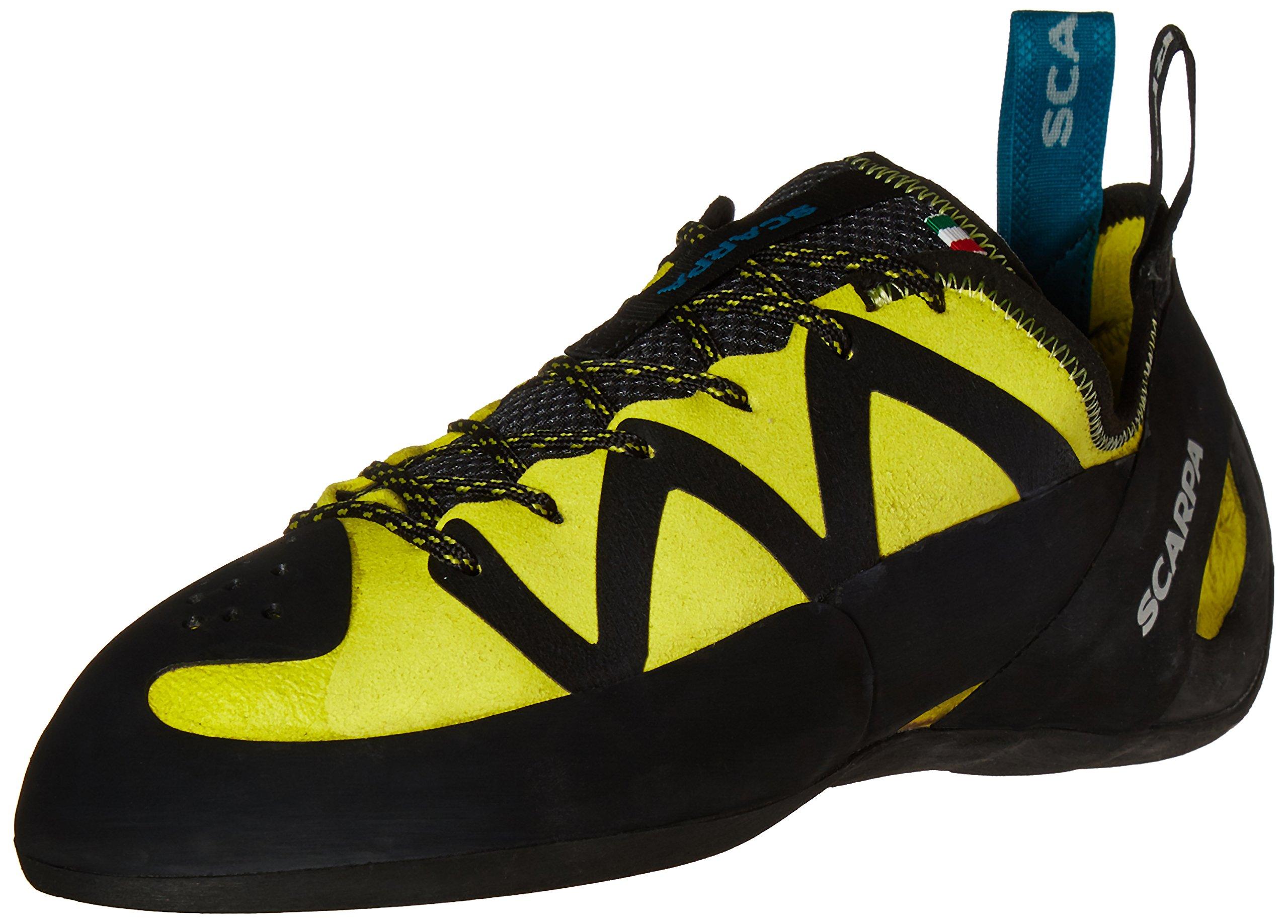 Scarpa Men's Vapor Climbing Shoe, Yellow, 42 EU/9 M US