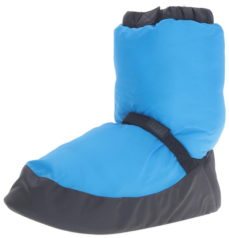 Bloch Women's Warm up Boot/Slipper B019ZHDMCG Medium/6-8 M US|Blue Fluro