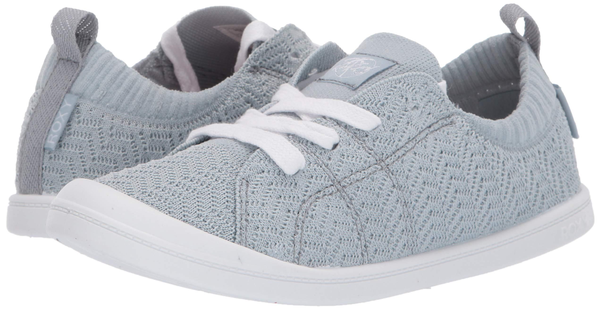 b750a32622faf Details about Roxy Women's Bayshore Knit Shoe Sneaker, Baja Blue - Choose  SZ/color