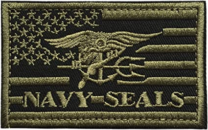 United States Navy SEALs Trident USA Military Army Tactical Morale Emblem Patch