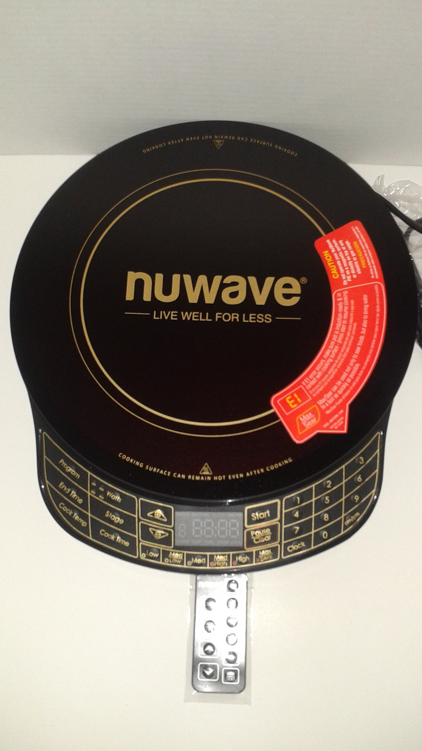 NuWave Platinum 30401 Precision Induction Cooktop, Black with Remote and Advanced Features for 2017 by NuWave (Image #5)
