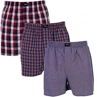 3 er Pack MG-1 Webboxer / Boxershorts Herren american Shorts Sparpaket  FARBWAHL: Amazon.de: Bekleidung