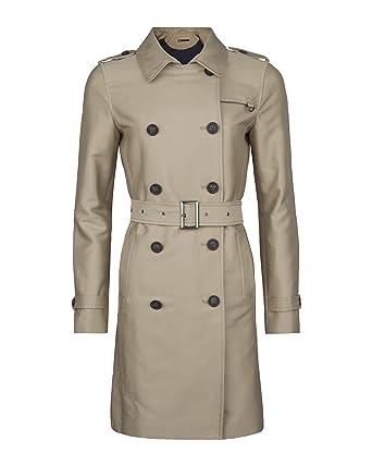 new product ae80c 6d2ba WE Fashion Damen-trenchcoat 78560697 Beige XS: Amazon.de ...