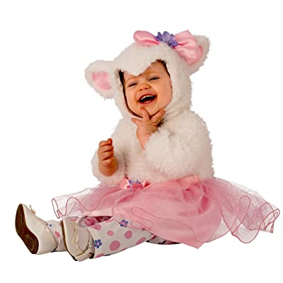 Rubies Little Lamb Girls Infant Tutu Costume: Toys & Games