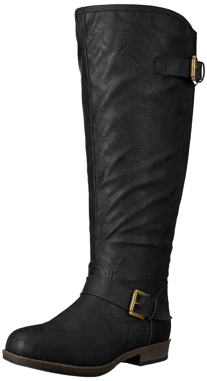 Brinley Co Women's Durango-xwc Riding Boot B018EXHVGA 8.5 B(M) US Black Extra Wide Calf