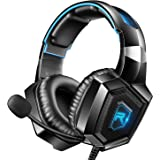 RUNMUS Stereo Gaming Headset for PS4, Xbox One,...