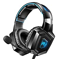 RUNMUS Stereo Gaming Headset for PS4, Xbox One, Nintendo Switch, PC, PS3, Mac, Laptop...
