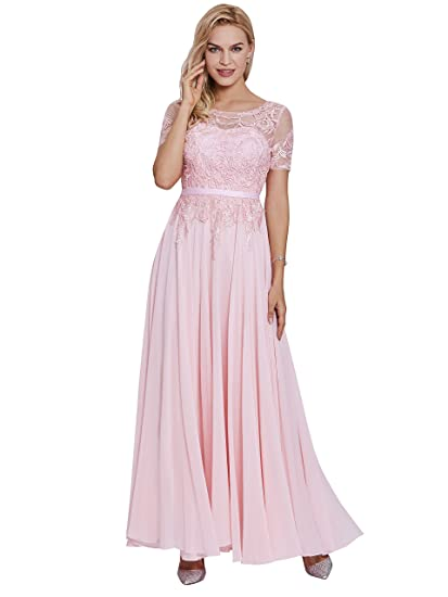 6f5a8a4e0f0 Tanpell Women s Lace Evening Dress Chiffon Formal Party Gowns at ...