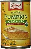 Libby's 100% Pure Organic Pumpkin, 15 oz