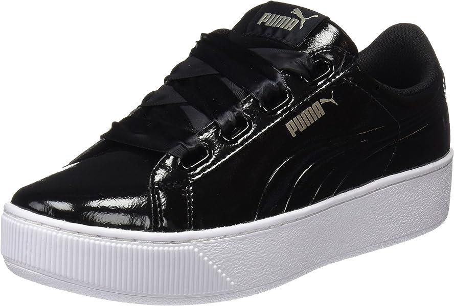 37de9318a14b Puma Women s Vikky Platform Ribbon P Low-Top Sneakers