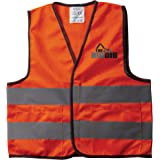 The Big Dig Toy Safety Vest Orange