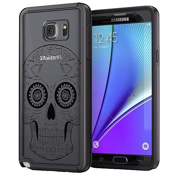 eddd78bffe9 True Color Case Compatible with Samsung Galaxy Note 5 Sugar Skull Case