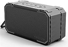 neocore WAVE Altavoz portátil para Smartphones, Tablets y Dispositivos MP3(10 W, Bluetooth, Recargable, AUX, 24 Horas), Color Negro