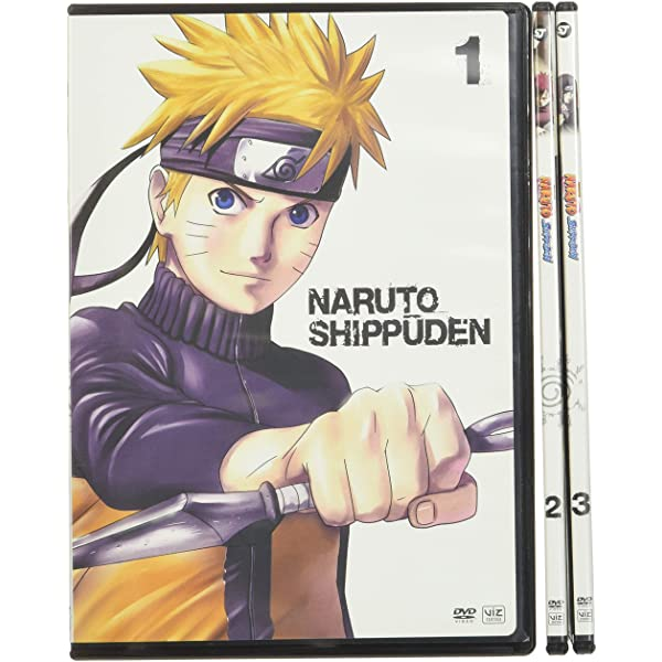 Naruto Shippuden Set One Naruto Shippuden Movies Tv