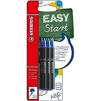 Navullingen - STABILO EASYoriginal navulling - medium – 6 stuks - blauw schrijvend (uitwisbaar)