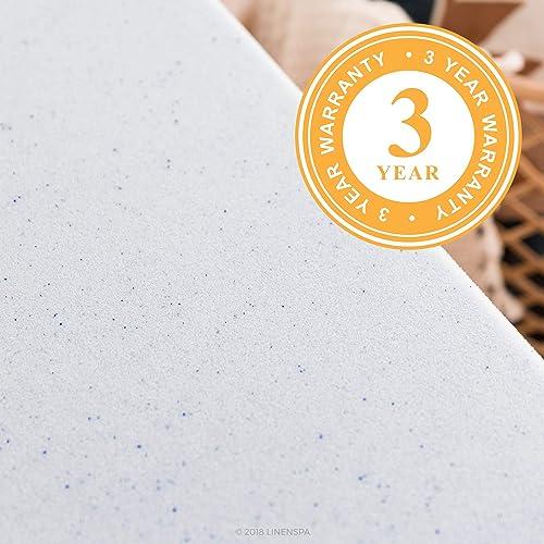Linenspa 2 inch gel infused memory foam reviews