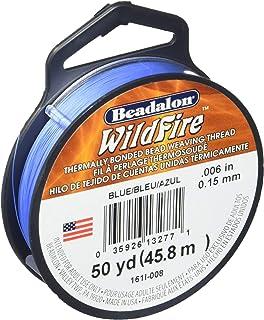 Beadalon Wildfire Stringing Thread .006 X50yd-Grey