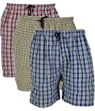 BIS Creations Men's Cotton Boxers (Pack of 3) Men's Boxer Shorts at amazon