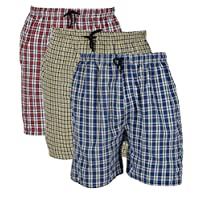 BIS Creations Men's Cotton Boxers (Pack of 3)