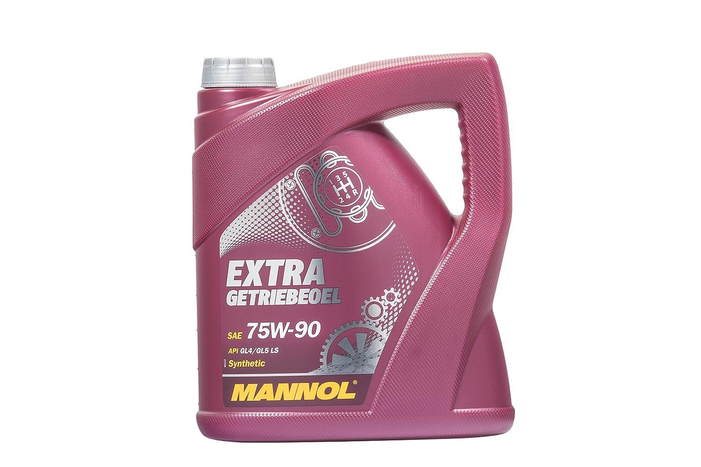 MANNOL Extra getriebeoel 75 W de 90 API GL 4/GL 5 LS, 1 L 1L MN8103-1