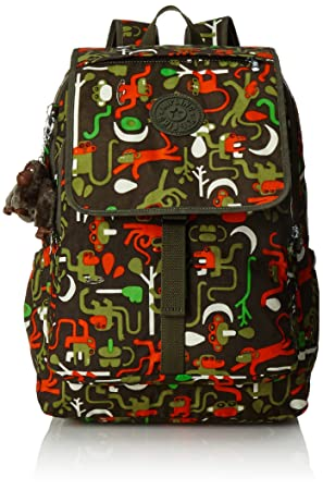 Kipling - HARUKO - Mochila grande - Monkey Frnds Kh - (Multi color): Amazon.es: Equipaje