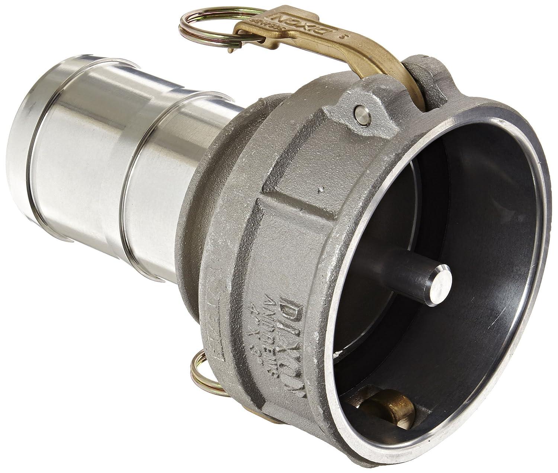 6 Socket x 5 Plug Dixon 6050-DA-AL Aluminum Cam and Groove Reducing Hose Fitting