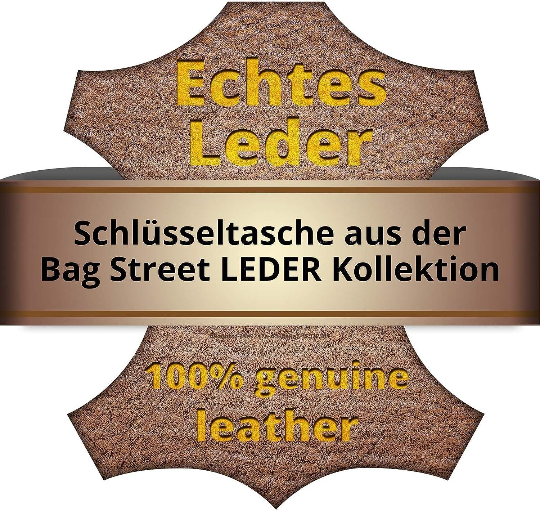SilberDream DrachenLeder Schl/üsseltasche Etui Geldb/örse Farbwahl Leder 10x0.5x6cm OPJ900X Leder Schl/üsseltasche