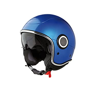 Jet Casco Vespa vj1, Azul
