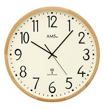 AMS Wanduhren modern 5534: Amazon.de: Uhren